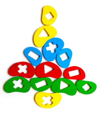 Christmas tree toy of the elements