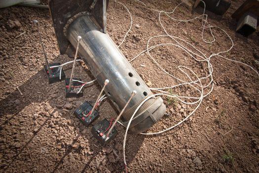 Steel Pipe Explosive Device