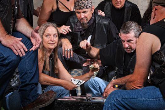 Biker Gang Member Loses to Woman