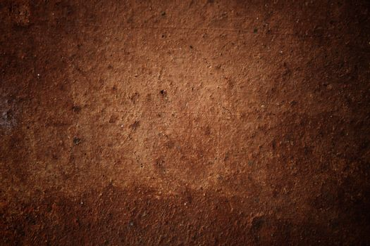 Brown rough wall background or texture