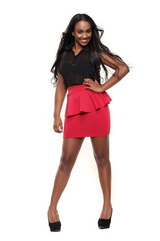 Full Length Mixed Race Girl