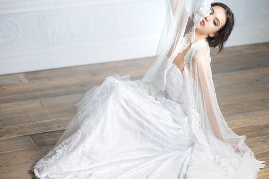 Portrat of an Elegant Bride