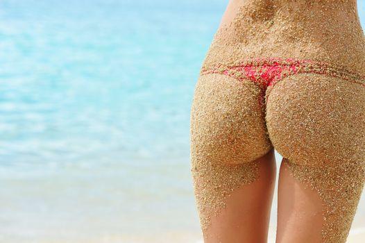 Sandy back