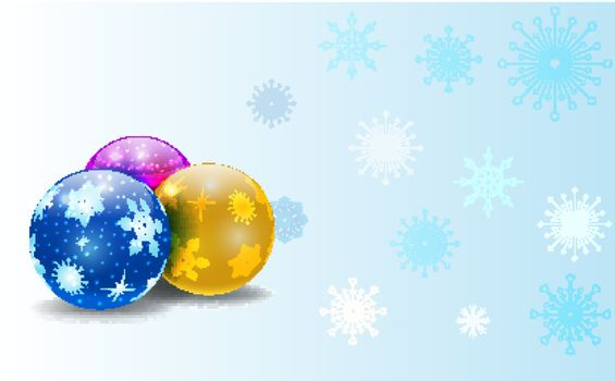 vector christmas background with space for your text,eps 10 file, gradient mesh and transparency used