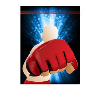 Mixed Martial Arts Punch