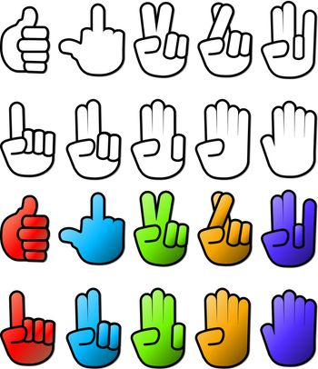 Collection of Hand Symbols