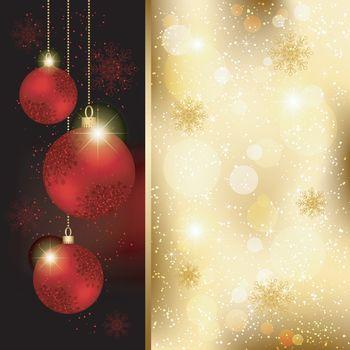 Christmas Crystal Ball Greeting Card