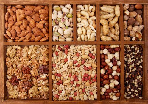 Arrangement of Nuts