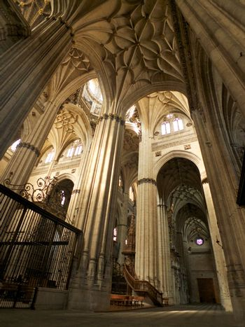 inside of Salamanca cathedral