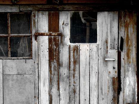 Door of a workshop