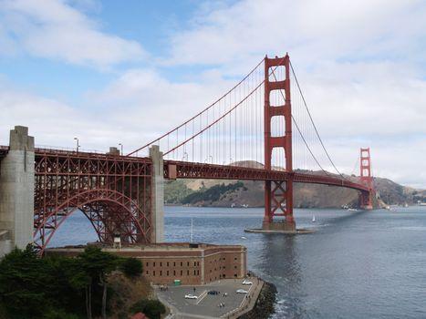 Golden Gate Bridge of San Francisco, California