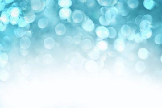 Blue Sparkle Lights