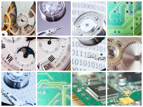 Technical collage
