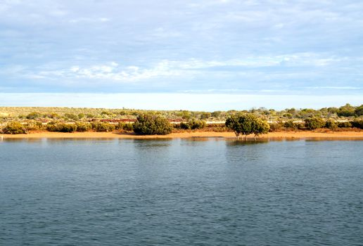 An Outback Shore, Port Augusta (top of Spencer Gulf), South Aust