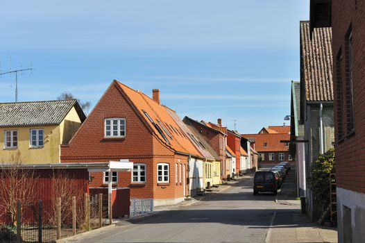 Small town in Denmark