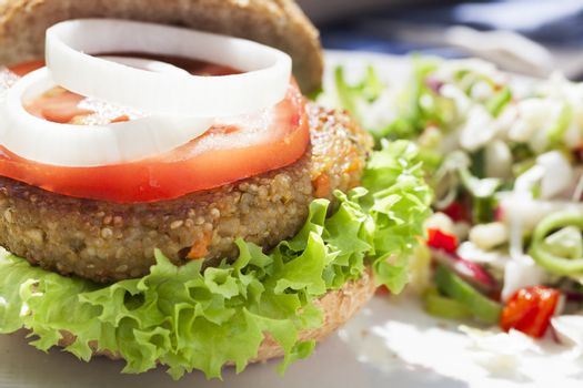 Tempting Veggie Burger