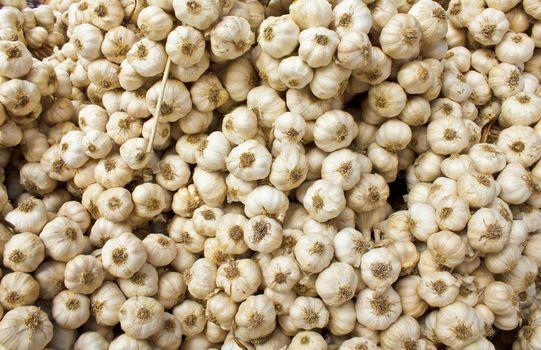 Stock Photo - Heap of Garlic