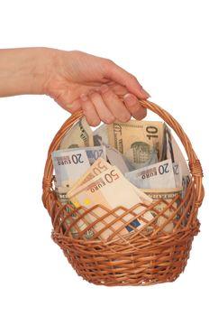 dual currency basket