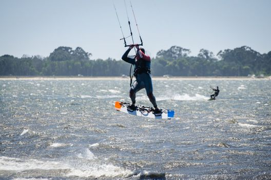 Participants in the Portuguese National Kitesurf Championship 20