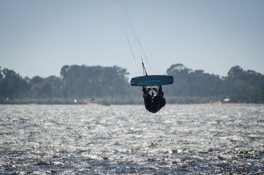 Participant in the Portuguese National Kitesurf Championship 201