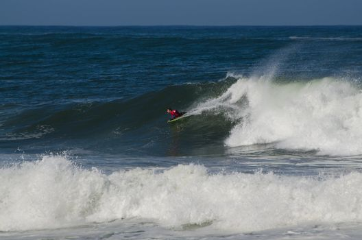 Ricardo Faustino during the the National Open Bodyboard Champion