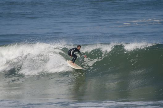 Ricardo Almeida during the 1st stage of National Longboard Champ