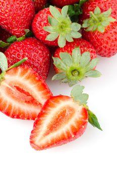 Appetizing strawberries