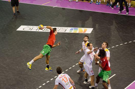 Portuguese attack