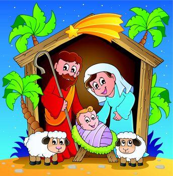 Christmas Nativity scene 3