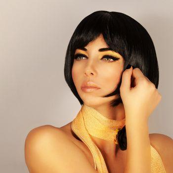 Gorgeous female haircut