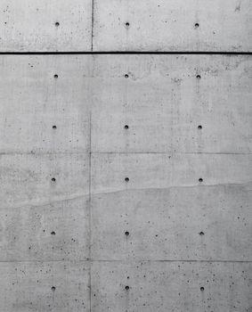 Bare concrete wall