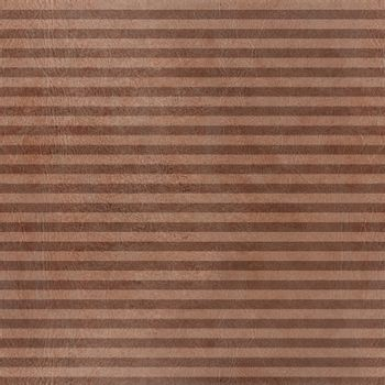 sameless  brown pattern horizontal stripes with leather texture