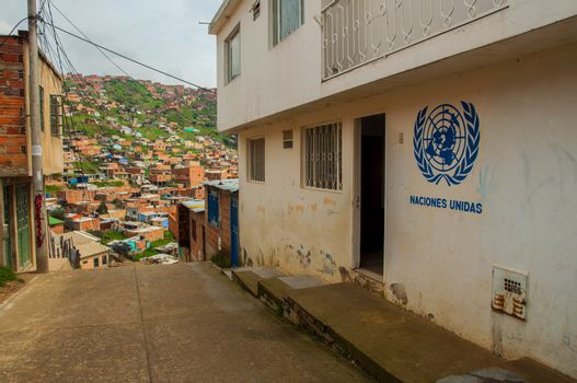 United Nations in a Slum