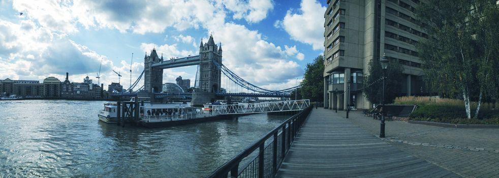 St Katharine Docks in London near Tower Bridge