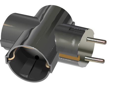 T power divider