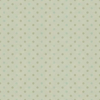 Seamless polka dots pattern on vintage paper texture