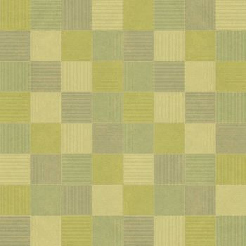 Seamless green geometric pattern mosaics with line horizontal and vertical