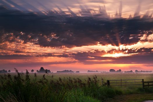 warm sunrise
