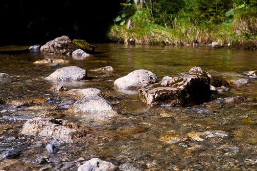alpine streamlet