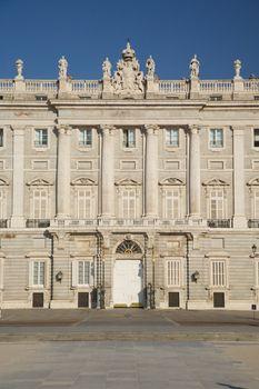 Madrid royal palace door