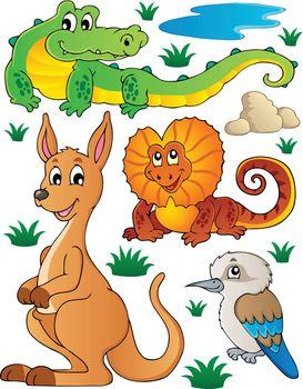 Australian wildlife fauna set 2