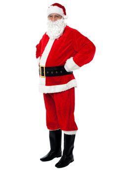Santa is all set for Xmas celebrations