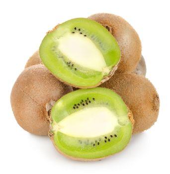 Juicy kiwi isolated