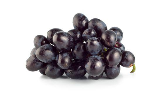 Blue grape isolated