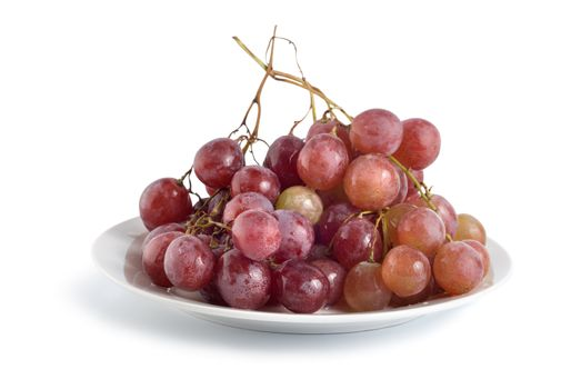 Grapes in a plate