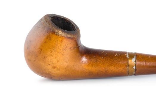 Smoking pipe isolated