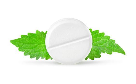 Aspirin with mint