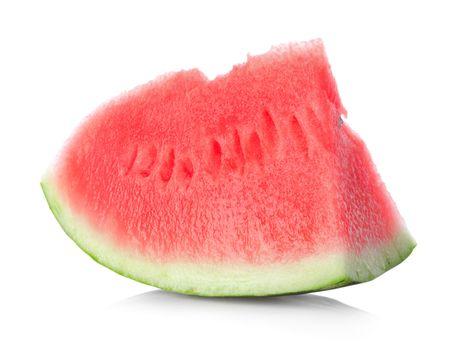 Juicy piece of watermelon