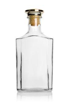 Empty bottle cognac
