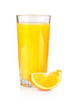 Juice and orange